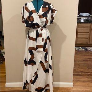 🦋She Insider - Maxi Dress with unique design, XS